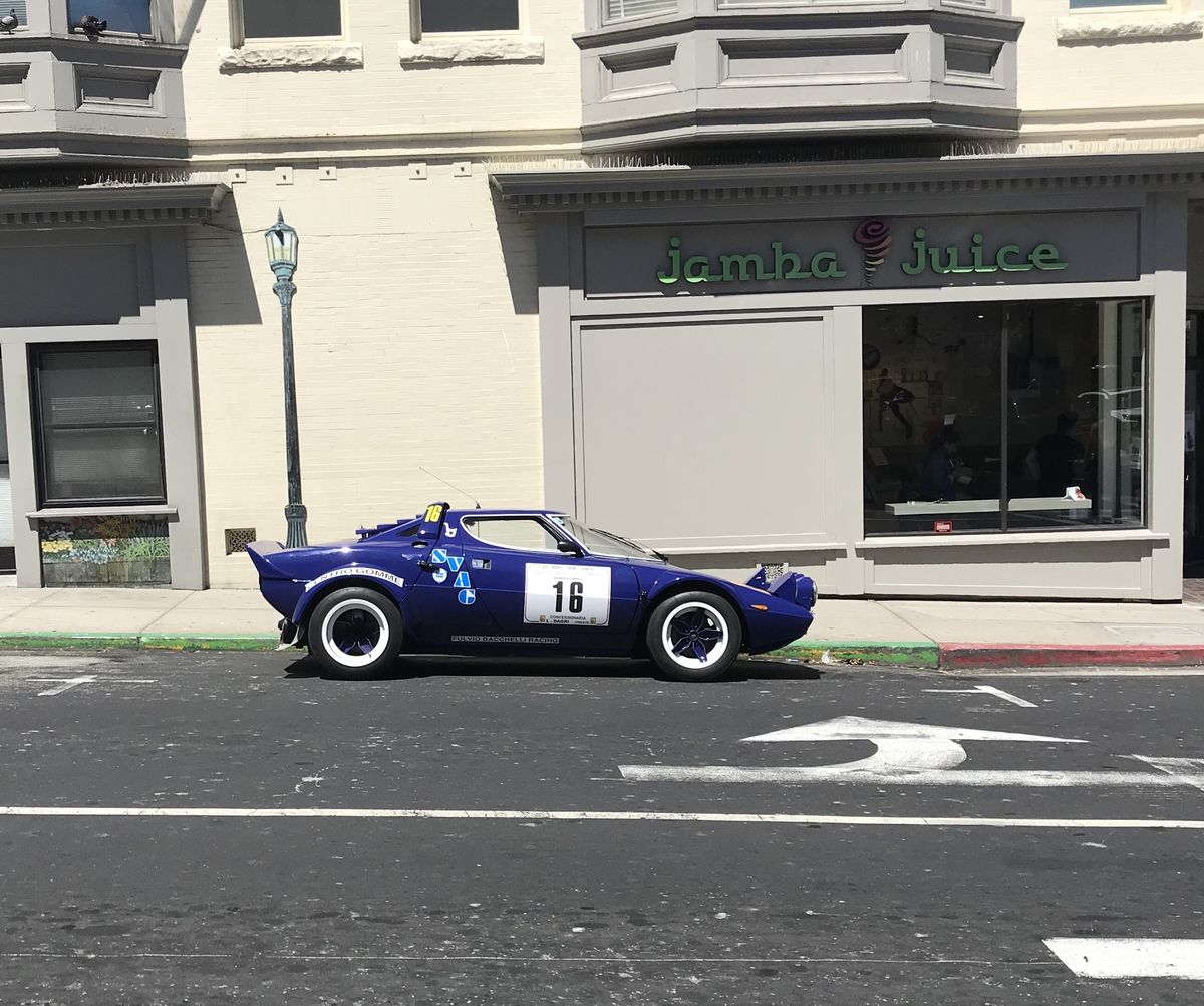 Lancia Stratos in Monterey