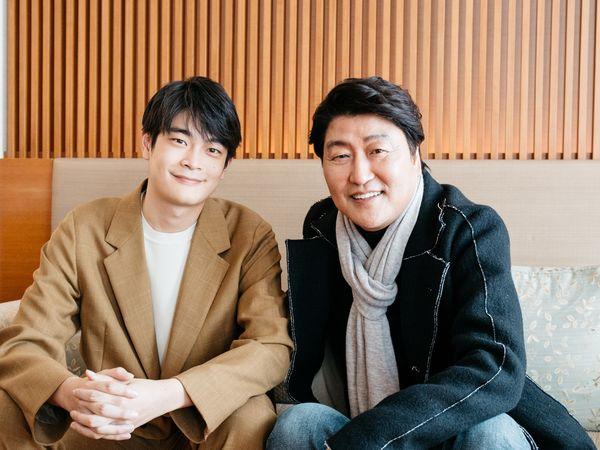 井之脇海が感動の初対面! 名優ソン・ガンホに聞く、熱き30年の俳優道