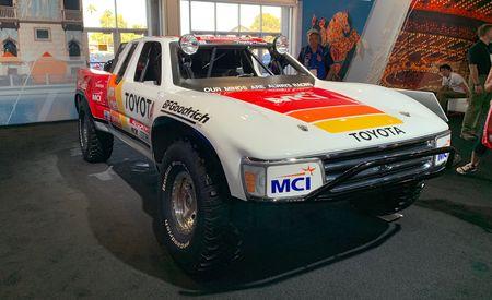 The Ironman Stewart Toyota Trophy Truck Rules at SEMA
