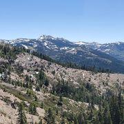 Mountainous landforms, Mountain, Wilderness, Mountain range, Ridge, Sky, Tree, Alps, Biome, Plant community,