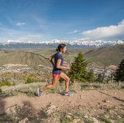 Mountainous landforms, Outdoor recreation, Mountain, Wilderness, Fell, Recreation, Trail, Running, Sky, Mountain range,