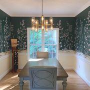 tempaper, removable wallpaper, chinoiserie, peel n stick wallpaper