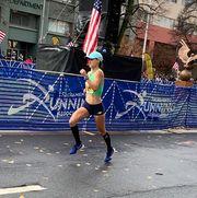Recreation, Marathon, Public event, Tree, Running, Event, Architecture, Street, Athletics, Long-distance running,