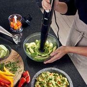 braun immersion blender making guacamole