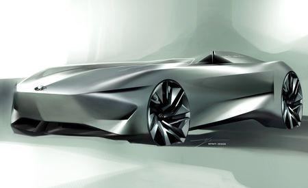 Infiniti Readies Prototype 10 Single-Seater Concept for Pebble Beach