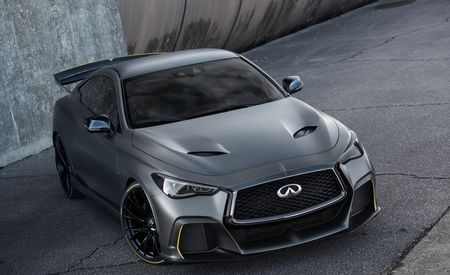 2018 Infiniti Q60 Project Black S Prototype Is A 563 Hp Coupe With F1 Hybrid Tech