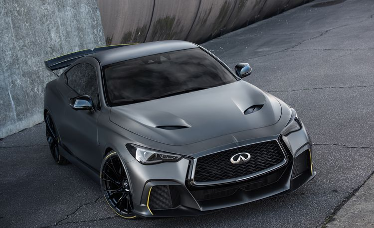 Infiniti Project Black S Prototype Is a 563-HP Coupe with F1 Hybrid Tech