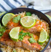 Instant Pot Chipotle Lime Salmon
