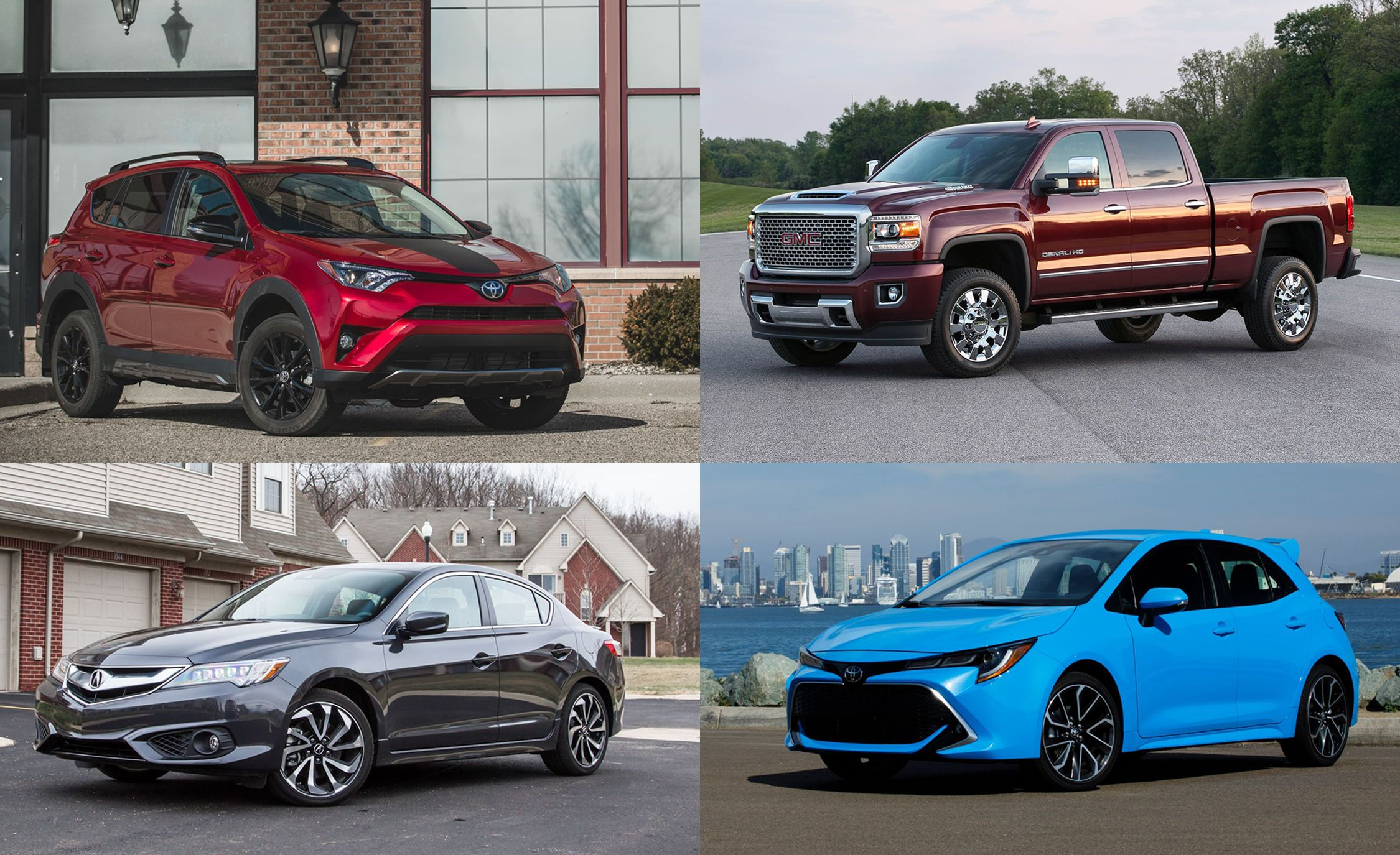 $199 Lease Deals on Cars, Trucks, and SUVs for August 2018