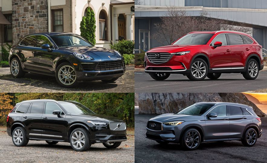 The Best-Looking Crossovers and SUVs for Sale in 2018 - Slide 1