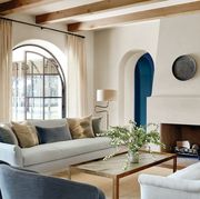 Living room, Room, Interior design, Furniture, Property, Coffee table, Ceiling, Building, Table, Home,