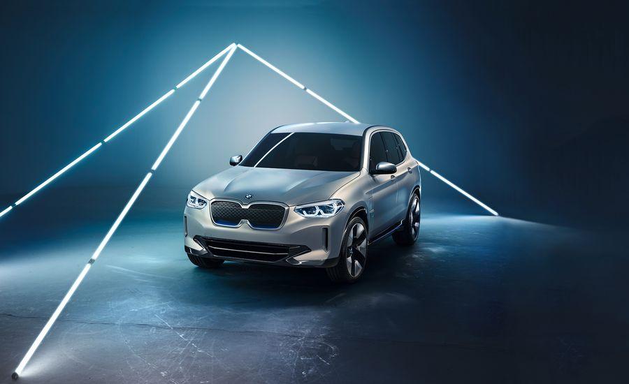 BMW Concept iX3 Previews a U.S.-Bound EV SUV | News | Car and Driver