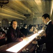 jack nicholson and joe turkel in 'the shining'
