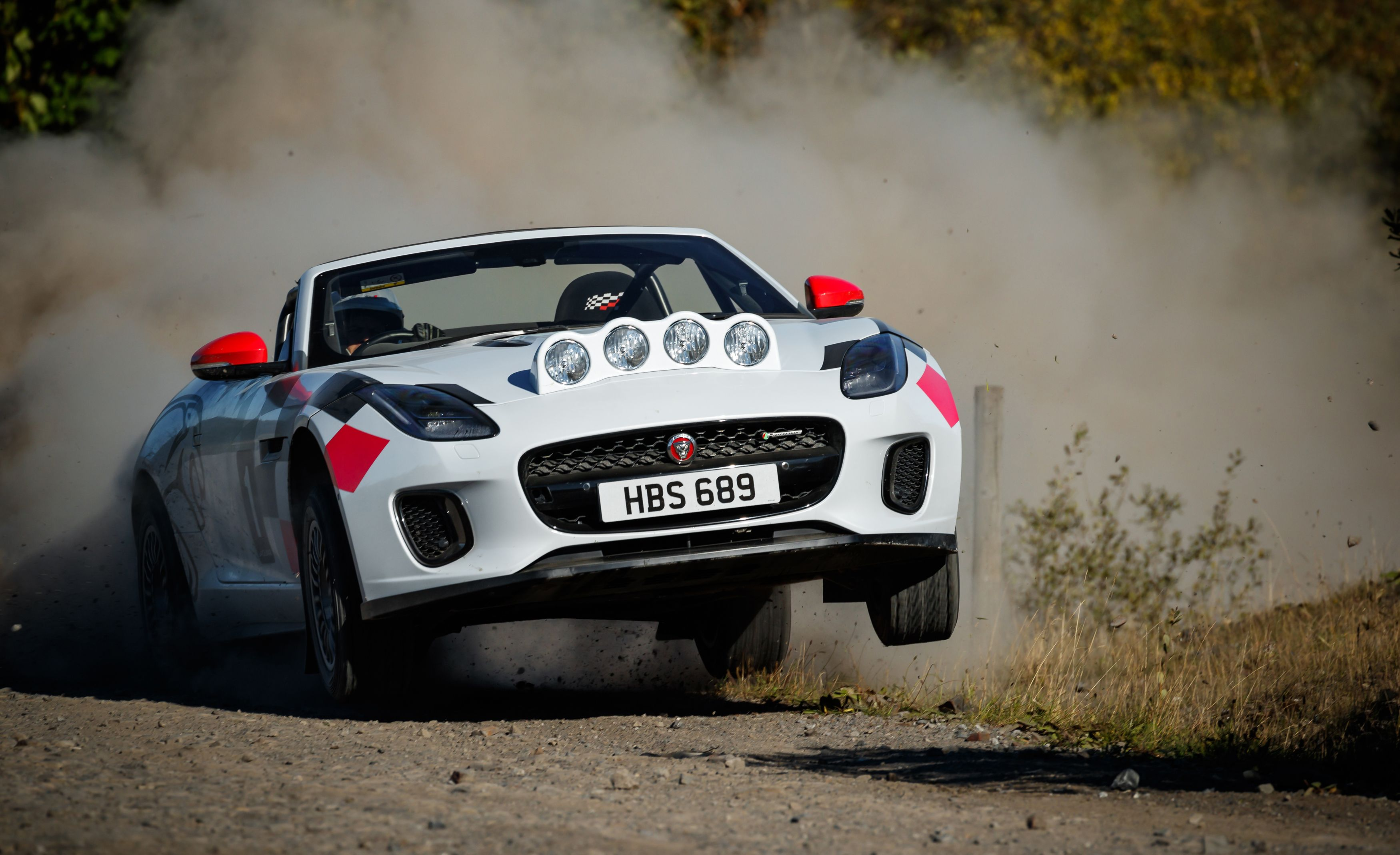Jaguar Created an Awesome F-type Rally Car to Hype Up Its Latest Special Edition