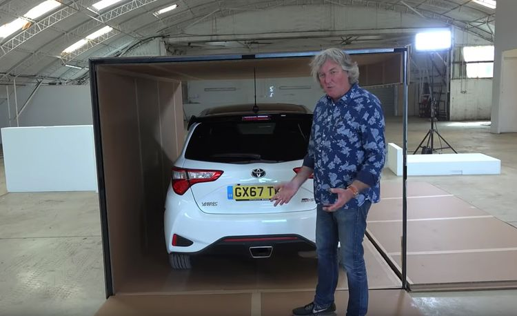 Watch James May Unbox an Actual Toyota Yaris