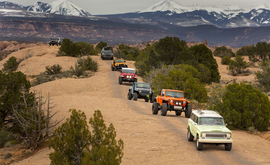 We Drive Awesome Jeep Concepts in Moab