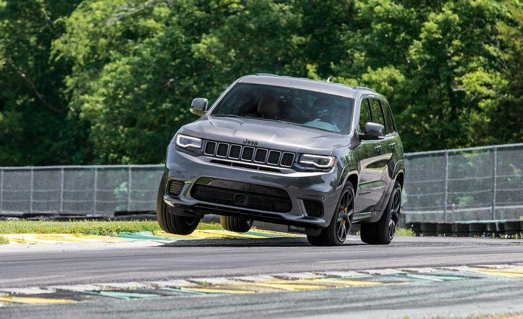 2018 Jeep Grand Cherokee Trackhawk at Lightning Lap 2018