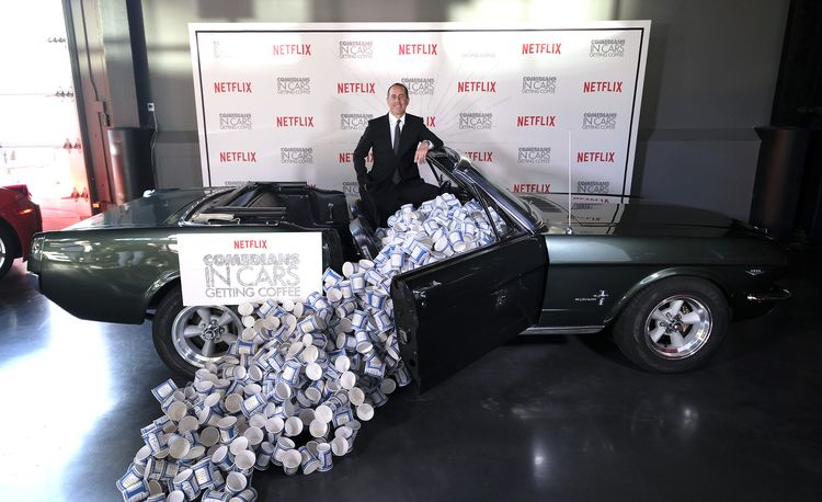 These Are the Most Valuable Cars Jerry Seinfeld Has Featured on Comedians in Cars Getting Coffee