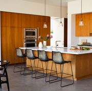 Countertop, Furniture, Room, Kitchen, Cabinetry, Property, Interior design, Building, Floor, House,