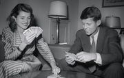 John F. Kennedy with Sister Eunice