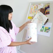 oh joy founder joy cho and bounty paper towels