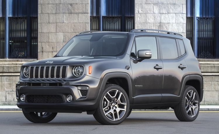 Jeep Renegade Plug-In Hybrid Will Be Built in Italy Starting in 2020