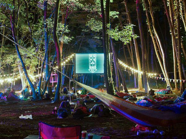 祝5周年! 野外映画フェス『夜空と交差する森の映画祭2018』が栃木で開催