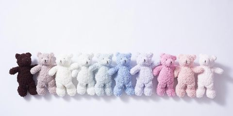 Wool, Pink, Textile, Stuffed toy, Fur, Knitting, Hair accessory,