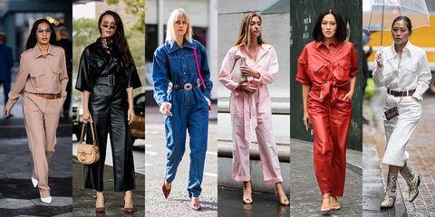 Clothing, Street fashion, Jeans, Fashion, Denim, Pink, Jacket, Textile, Fashion model, Outerwear,