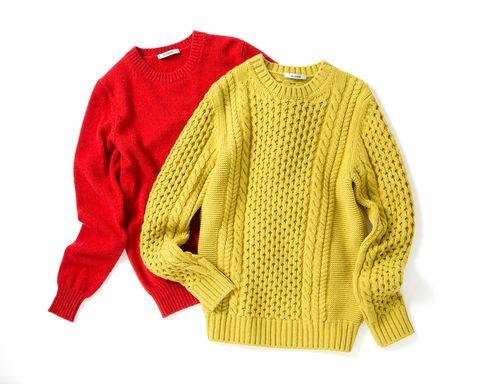 Clothing, Outerwear, Sleeve, Yellow, Sweater, Woolen, Top, Jacket, Jersey, Wool,