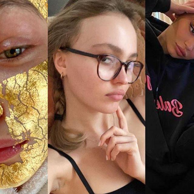 Face, Eyewear, Head, Skin, Glasses, Nose, Selfie, Yellow, Beauty, Lip,