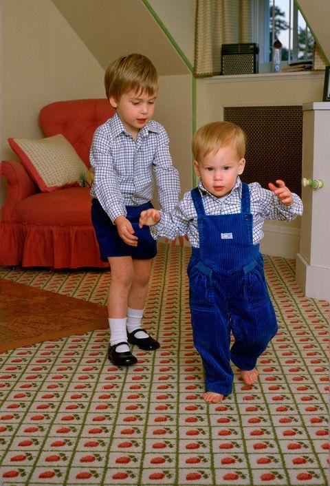 Child, Toddler, Standing, Room, Flooring, Floor, Play, Family,