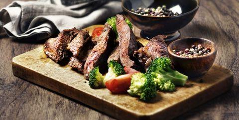 Dish, Cuisine, Food, Flat iron steak, Ingredient, Steak, Meat, Mixed grill, Recipe, Grillades,