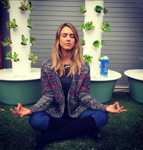 Green, Blue, Sitting, Purple, Beauty, Grass, Fashion, Photo shoot, Cool, Long hair,