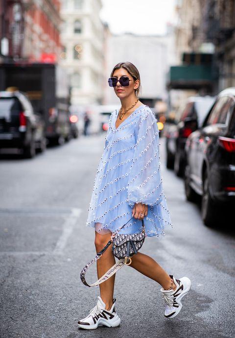 White, Clothing, Street fashion, Photograph, Fashion, Footwear, Snapshot, Shoe, Denim, Shoulder,