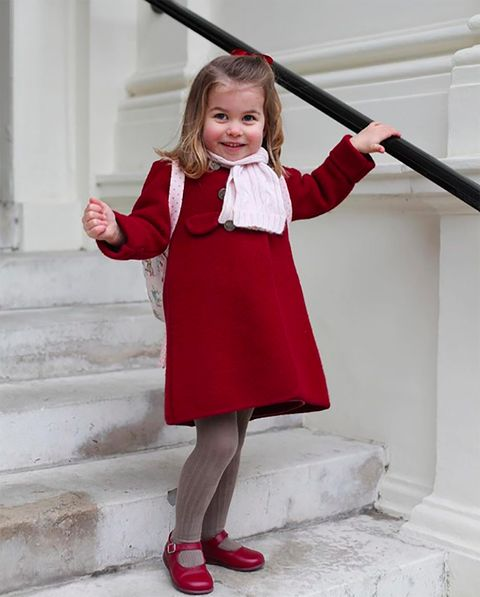 Red, Clothing, Child, Blond, Child model, Toddler, Footwear, Costume, Dress, Photography,
