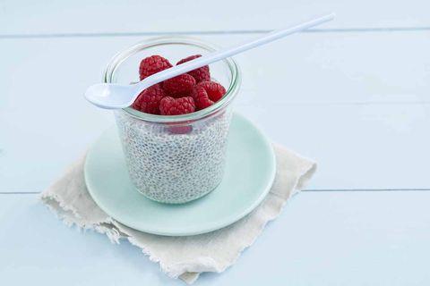 Food, Dessert, Spoon, Berry, Cuisine, Dish, Granita, Frozen dessert, Strawberry, Mousse,