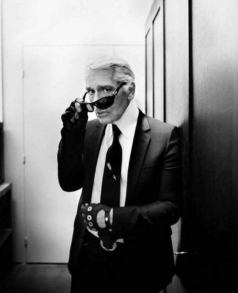 White, Black, Photograph, Suit, Black-and-white, Monochrome, Monochrome photography, Snapshot, Eyewear, Standing,