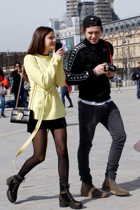 Photograph, Tights, Street fashion, Clothing, Leg, Fashion, Snapshot, Beauty, Leggings, Footwear,