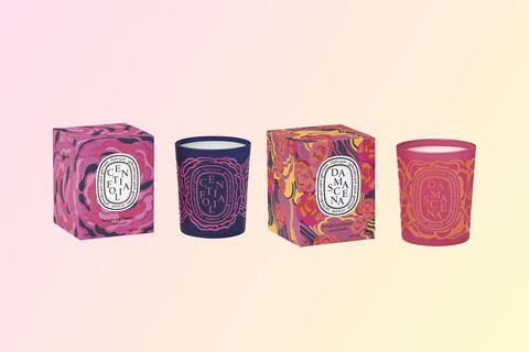 Pink, Tumbler, Magenta, Cylinder, Drinkware, Highball glass, Candle, Illustration,