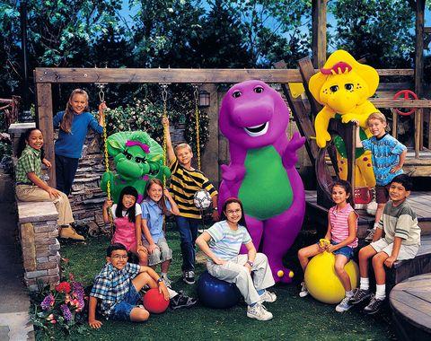 Yellow, Animated cartoon, Fun, Tree, Community, Leisure, Spring, Mascot, Child, Vacation,