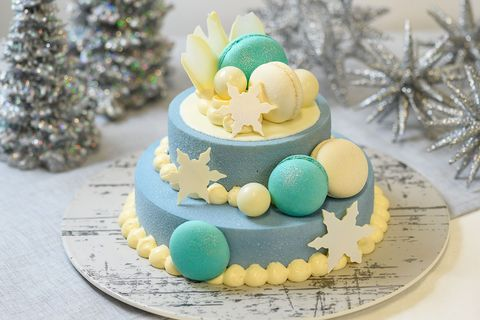 ボン ヴィヴァン 「Snow Glitter Cake」
