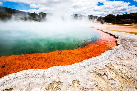 Body of water, Nature, Sky, Natural landscape, Water resources, Geology, Wilderness, Water, Geyser, National park,