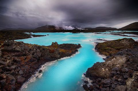 Body of water, Nature, Sky, Water, Blue, Sea, Coast, Natural landscape, Lagoon, Turquoise,