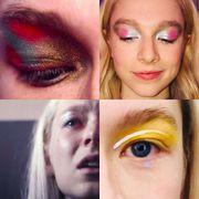 Face, Eyebrow, Hair, Eye, Eyelash, Skin, Lip, Eye shadow, Cheek, Nose,