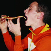 junk food and running