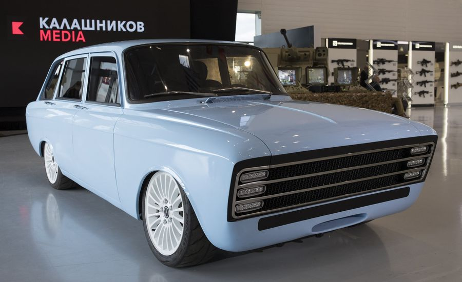 The Makers of the Kalashnikov Rifle Think They Can Make a Better EV Than Tesla