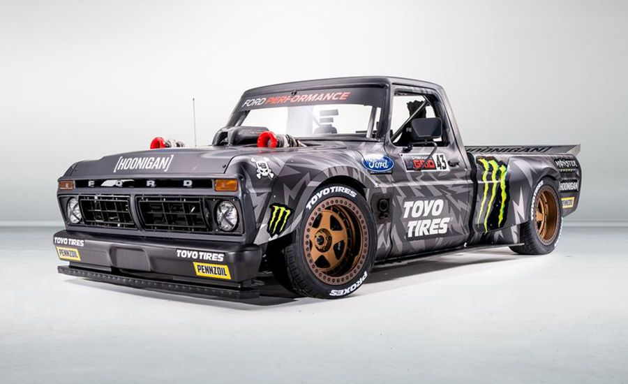Ken Block's New Hoonitruck is a 1977 Ford F-150 with 914 HP