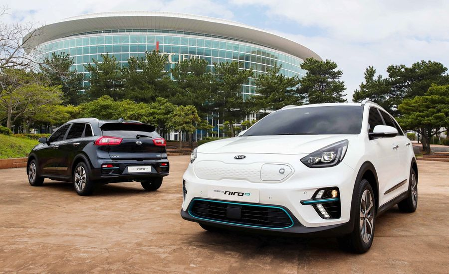 The Kia Niro EV Makes the Transition from Concept to Reality