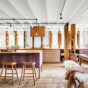 interior design, room, building, furniture, table, ceiling, lighting, house, architecture, beam,